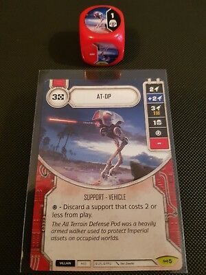 #003 Magnaguard Empire at War Dice Star Wars Destiny red