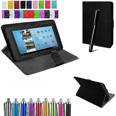 """Universal Flip Stand Fold Case Cover For ACER Iconia One B1-870 8""""inch Tab+Pen"""