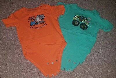 Jumping Beans 100% Cotton Vests Age 2 (18-24)