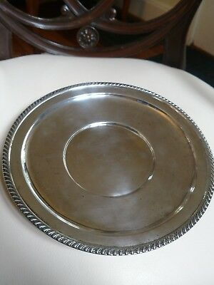 Sterling Silver Dish, Gadroon Rim, 152 grams
