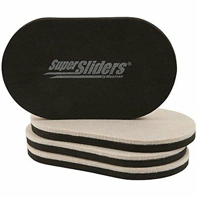 SuperSliders 4705195N Reusable Furniture Movers for Hardwood Floors – Quickly x