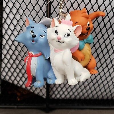 2018 Disney Parks Aristocats  Duchess,Thomas O'Malley, Toulouse Ornament New
