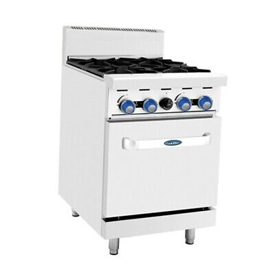 Cookrite 4 Burner With Oven Ato-4B-F Lpg
