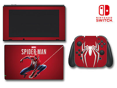 Marvel's Spider-man Special Edition Video Game Decal Skin for Nintendo Switch