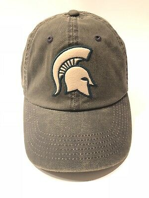 on sale 0725c a56e7 Michigan State Spartans Top of the World Green Offroad Adjust Strapback Hat  Cap