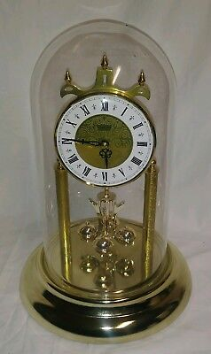 Vintage German Made Hampton Anniversary Clock Works Beautifully