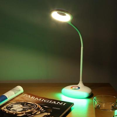 Practical 360° 18 LED Dimmable Touch Control Eye Care Desk Warm White Lamp