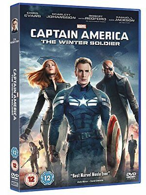Captain America: The Winter Soldier  with Chris Evans New (DVD  2014)