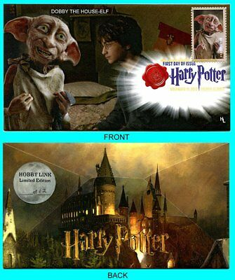 Harry Potter Dobby The House-Elf First Day Cover with Color Cancel Type 1