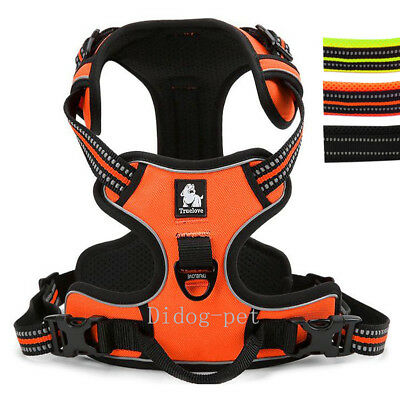 Brand No-pull Dog Harness Large 3M Reflective Outdoor Pet Vest Padded Handle