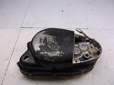 1976 Yamaha YZ 125 Engine Side Cover Right Clutch NICE OEM 76 T4