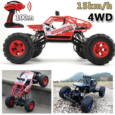 4WD RC Monster Truck Off Road Vehicle Crawler Buggy 2.4G Car Bigfoot Gift