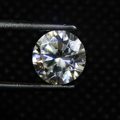 1.55 Cts 8x8x4.5 mm Round Faceted Brilliant Cut Loose Moissanite Gemstone ML#-4