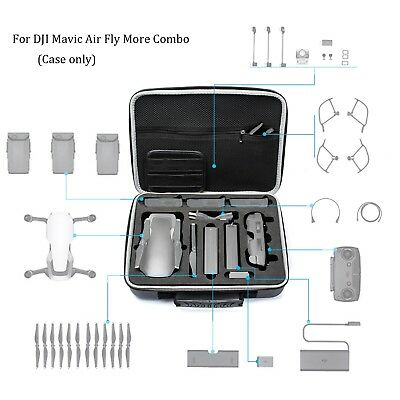 Lightweight Travel Carrying Case Protective Storage Suitcase for DJI Mavic Air