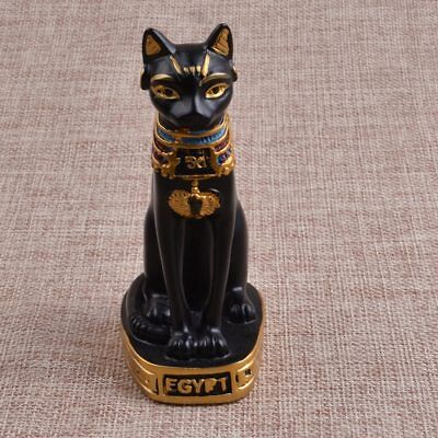 Black Goddess Cat Bast Egyptian Statue Figurine Egypt Ancient Figure Small 2.5''