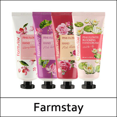 Pink Flower Blooming Hand Cream 4 Types