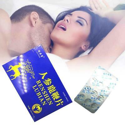 12 Pills ginseng deer whip Herbal Strong Male Sexual  Enhancer function Erection