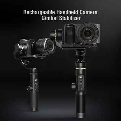 G6 Plus Handheld Gimbal Stabilizer + Phone Clip Mount Holder for Gopro Sony Cam