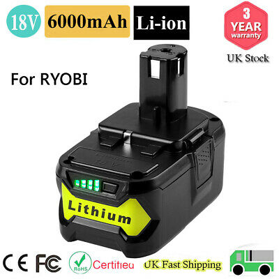 New 18V 6.0Ah Lithium ion Battery For Makita BL1860 BL1840 BL1830 BL1815 LXT400