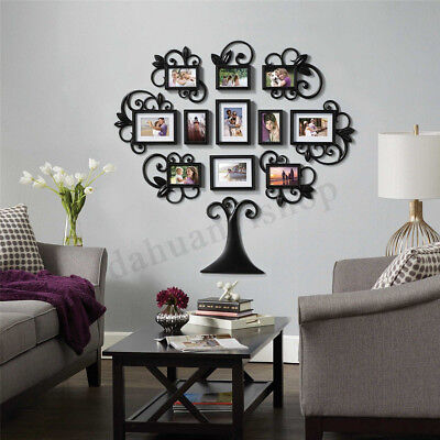 FAMILY TREE PICTURE Collage Frame Big Set Multiple Photo Mount Large ...