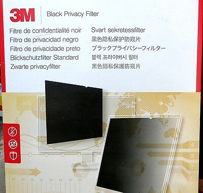 "Genuine 3M Privacy Filter Black 22.0"" PF22.0W NEW"