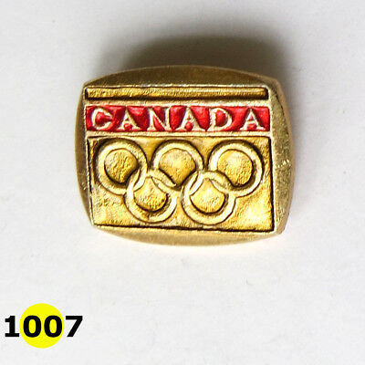 Vintage Olympic badge Canada
