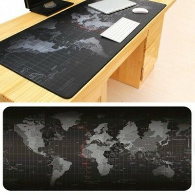 70x30cm Large Mouse Pad Old World Map Gaming Mousepad Anti-slip Natural Rubber