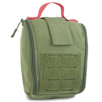 Mil-Tec IFAK Modular Tactical MOLLE First Aid Medic Medical Pouch Holder Green