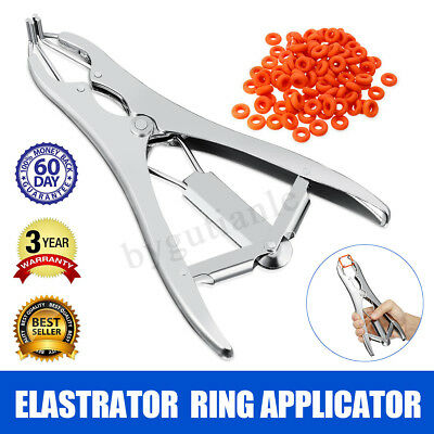 ELASTRATOR CASTRATING TOOL Rubber Ring Applicator CASTRATOR