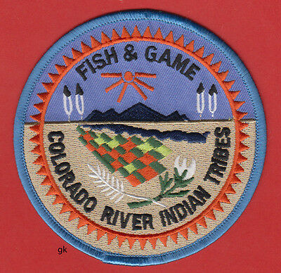 Colorado River Indian Tribes Fish & Game Arizona  Tribal Shoulder Patch