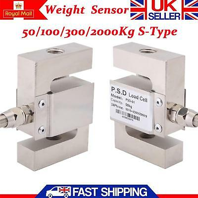 50/100/300/2000Kg S-Type High Precision Load Cell Scale Sensor Weighting Sensor