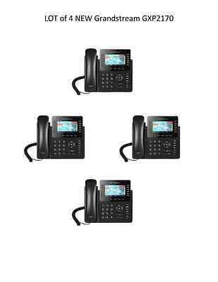 LOT of 4 New Grandstream GXP2170 12 Line  w/ Color Display -  FREE SHIPPING