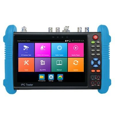 """IPC9800Plus  7"""" IP CCTV Tester Monitor IP Analog Camera Tester Wifi for Android"""