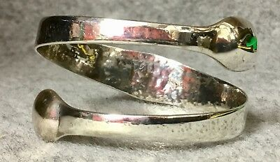 Upcycled Georgian Antique Silver Sugar Tongs Beautiful Silver Bracelet / Bangle