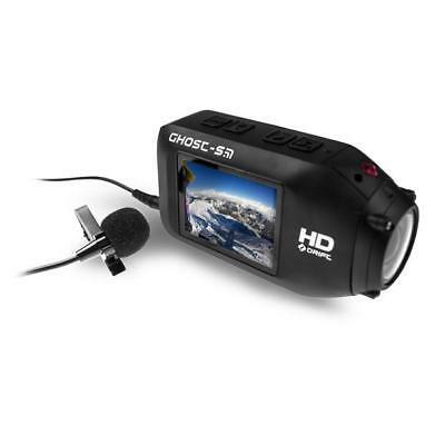 Drift 4K & Ghost X Motorcycle Action Helmet Camera Wired Mic Microphone