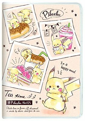 Kamio Japan Pokemon Pikachu notebook 2019 B6 Monthly cafe 09644 2018 October sta
