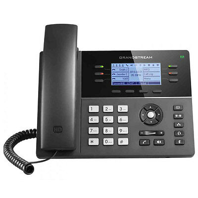 Lot of 5 x GRANDSTREAM GXP1760: 6 Line HD IP Phone - VoIP - FREE SHIPPING - New