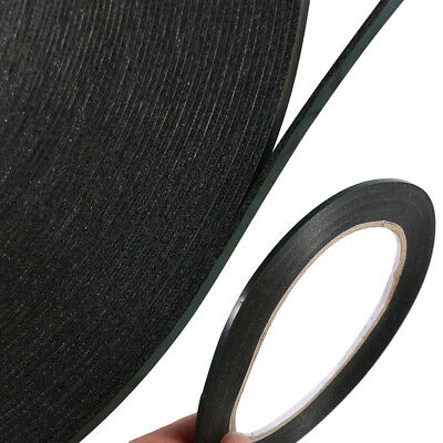 2mm*10M Black Super Strong Double Sided Self-Adhesive Foam Car Trim Body Tape PE