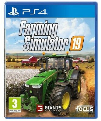 Farming Simulator 19 Ps4 Videogioco Playstation 4 Italiano Gioco Simulatore 2019