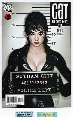 Catwoman #51 Adam Hughes Cover New/Old Stock