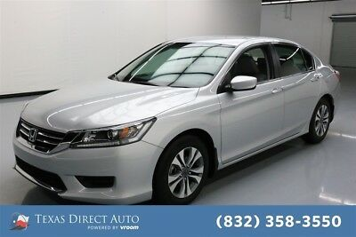 2014 Honda Accord LX Texas Direct Auto 2014 LX Used 2.4L I4 16V Automatic FWD Sedan
