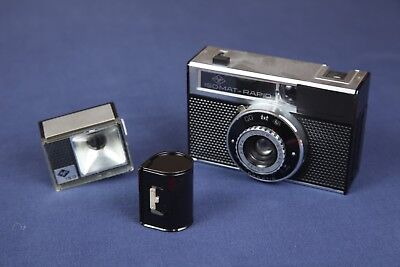 Agfa Isomat Rapid Film Camera with Flash holder and super rare film cannister