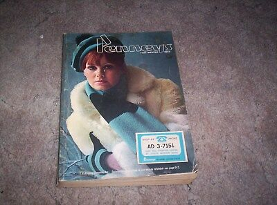 Vintage Penneys 1967 Fall- Winter  Catalog - pre owned- 1,055 pages  -  Good