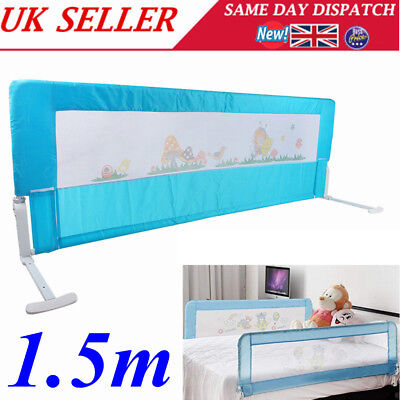 150cm Folding Safety Bed Rail Protection Child Toddler Kid Sleep Guard Bedroom