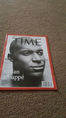 Kylian Mbappe Times Cover New