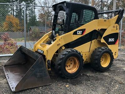2007 Caterpillar 262C Skid Steer Bobcat Pilot Control Heat/Air