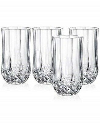 Longchamp Crystal Luxury Glasses Set of 4 - Refined Quality - Top Seller !