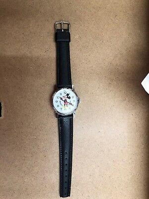early Mickey Mouse Watch Walt Disney Productions By Bradley made Hong kong