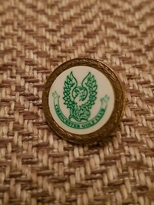 Vintage Cirencester GC ball marker