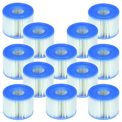 Intex PureSpa Type S1 Filter Cartridge Spa Replacement Cartridges 12 Pack